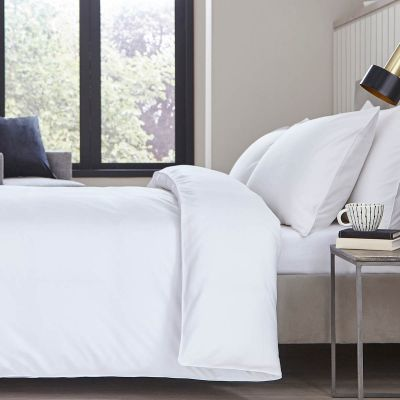 Albany Bed Linen Collection - 200 TC - Egyptian Cotton - White
