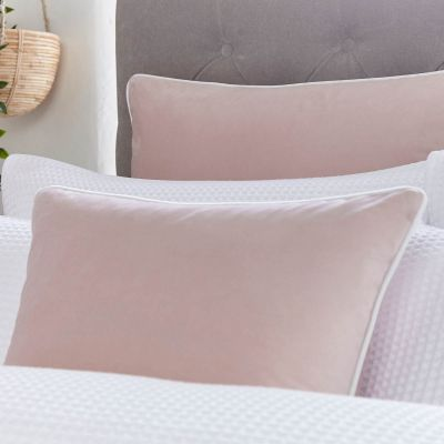 Luxury Velvet Cushion Cover - Pink