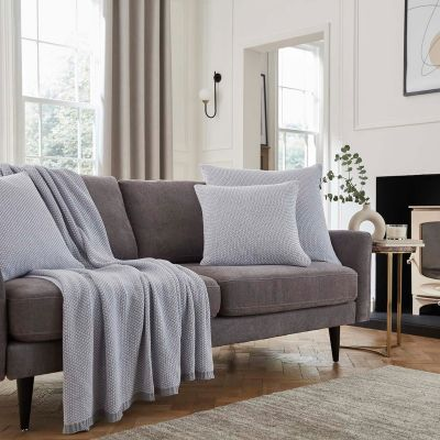 Denver Lounge Collection - Grey/White