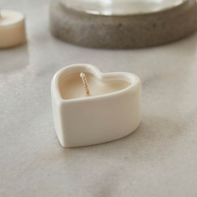 Escape Heart Tea Lights - Vanilla & Coconut - 4 Pack