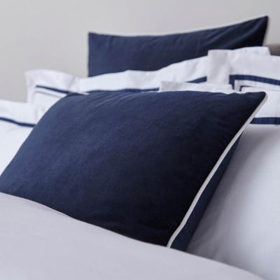 Luxury Velvet Cushion Cover - Navy