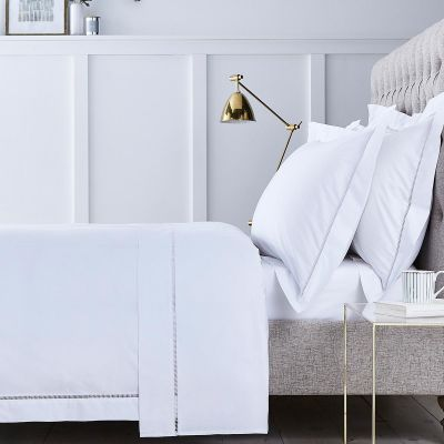 Paris Bed Linen Collection - 200 TC - Cotton - White
