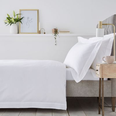 Marseille Bed Linen Collection - 600 TC - Egyptian Cotton - White
