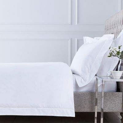Mayfair Duvet Cover - 400 TC - Egyptian Cotton - White