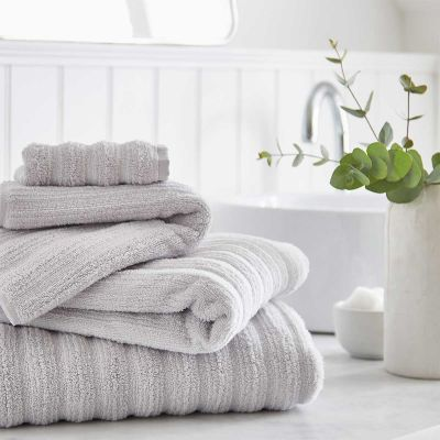 Monaco Supreme Cotton Towel - Light Grey