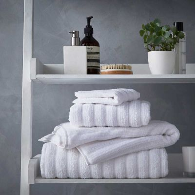 Monaco Supreme Cotton Towel - White