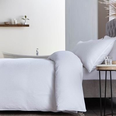 Mykonos Bed Linen Collection - 200 Thread Count - White