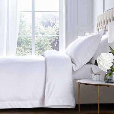 Pimlico Duvet Cover - 800 TC - Egyptian Cotton - White