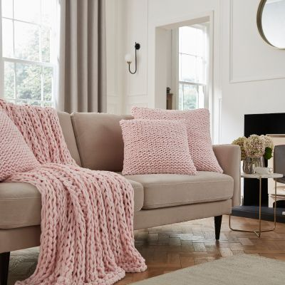 St Ives Sofa Throw 1.2m x 1.8m  - Pink