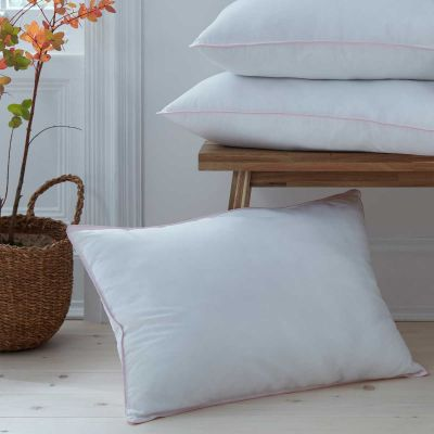 Pair of Feels Like Down Pillows - Soft Support