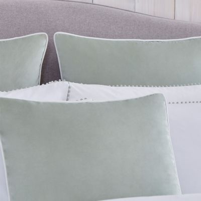 Luxury Velvet Cushion Cover - Sage