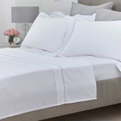 Mayfair Flat Sheet - 400 Thread Count - Double - Grey