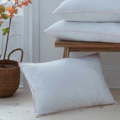 Pair of Feels Like Down Medium Support Pillows - Standard