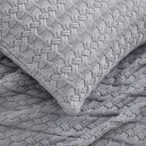 Vermont Throw 1.5m x 1.8m - Grey