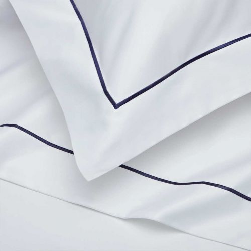 Mayfair Flat Sheet - 400 Thread Count - Navy