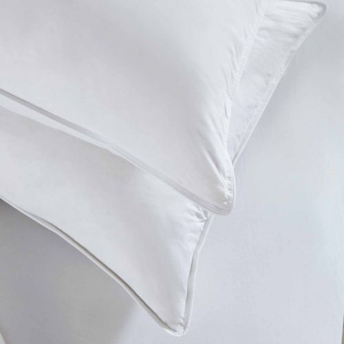 Pair Of Duck Feather And Down Pillows - Firm Support