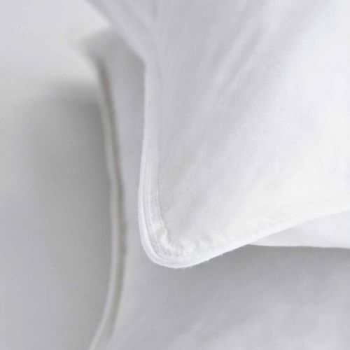 Pair Of Duck Feather And Down Pillows - Medium Support