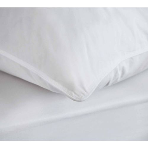 Pair Of Duck Feather And Down Pillows - Soft Support