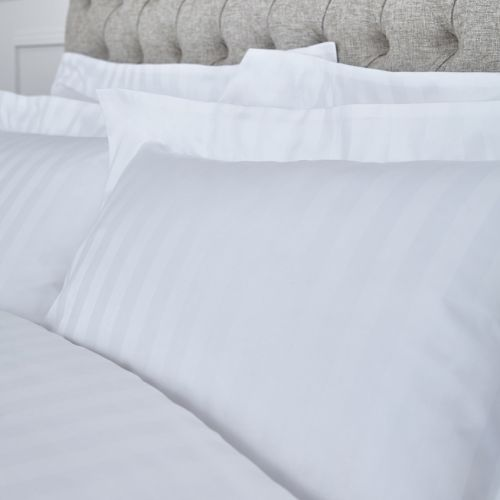Epsom Bed Linen Collection - 400 TC - Egyptian Cotton - White