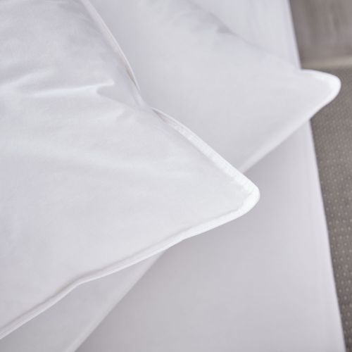 Pair of Feels Like Down Pillows - Medium Support
