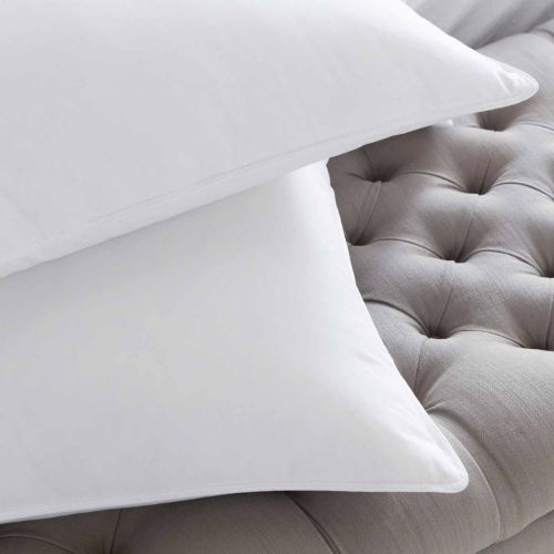 Pair of Supreme Goose Down Pillows - Firm Support