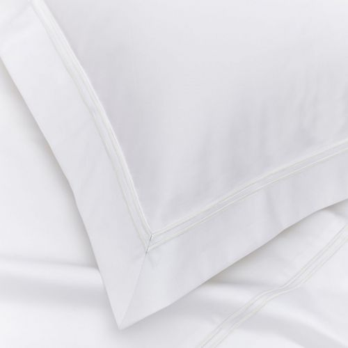 Kensington Bed Linen Collection - 800 TC - Egyptian Cotton - White