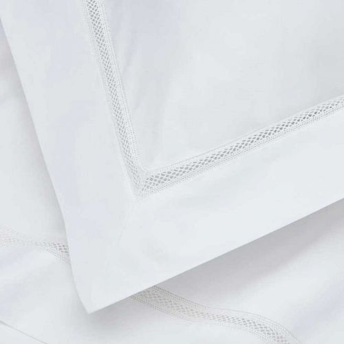 Lisbon Flat Sheet - 200 Thread Count - White