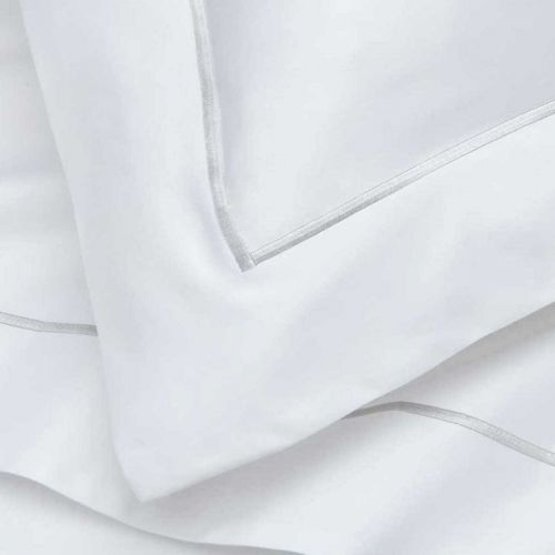 Pair of Mayfair Oxford Pillowcases - 400 TC - Egyptian Cotton - Grey