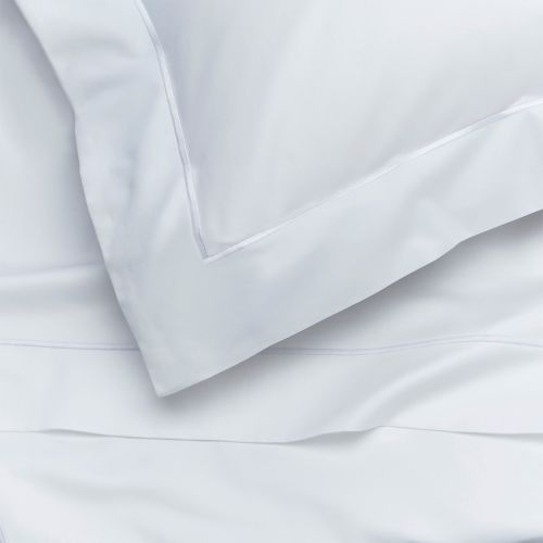 Pair of Oxford Pillowcases - Super King - 400 Thread Count - White