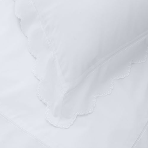 Palermo Bed Linen Collection - 200 TC - Cotton - White