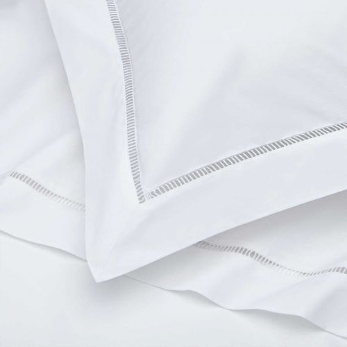 Paris Bed Linen Collection - 200 Thread Count - White