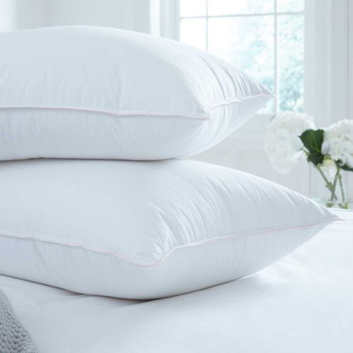 Pair of Supreme Goose Down Pillows - Soft Support