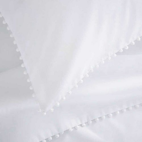 Girona Bed Linen Collection - 200 TC - Cotton - White