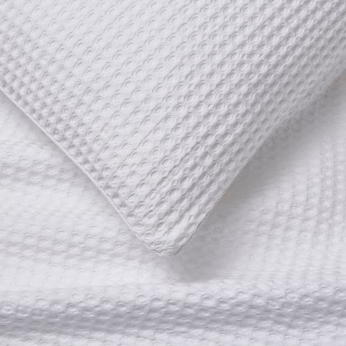 Portofino Duvet Cover - 200 TC - Cotton - White