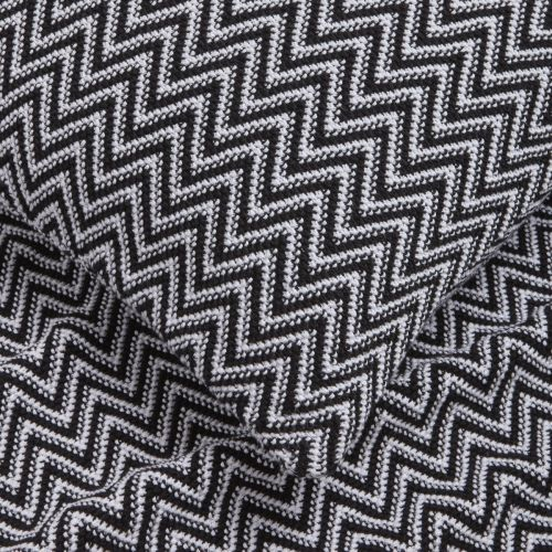 Santorini Throw 1.5m X 1.8m - Black/White