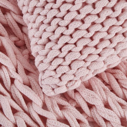 St Ives Throw 1.2m x 1.8m  - Pink