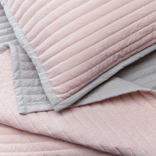 Twilight Throw 1.5m x 2m  - Pink/Grey