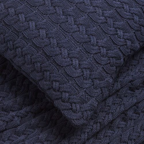 Vermont Sofa Throw 1.5m X 1.8m - Navy