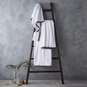 Antibes Luxury Cotton Towel - Charcoal