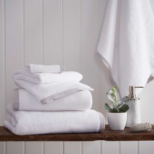 Antibes Luxury Cotton Towel - Light Grey