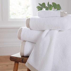 Antibes Luxury Cotton Towel - Natural