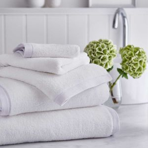 Antibes Luxury Cotton Towel - White