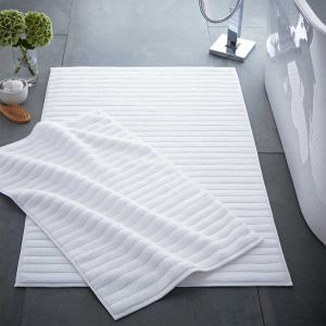 Monaco Supreme Cotton Bath Mat - White