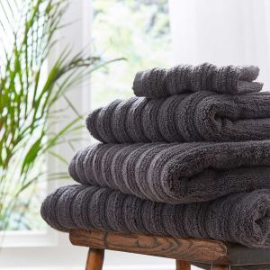 Monaco Supreme Cotton Towel - Charcoal