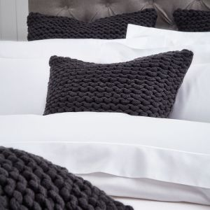 St Ives Cushion Cover - Charcoal