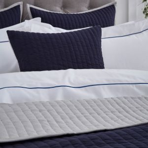 Twilight Cushion Cover Navy Blue/Grey