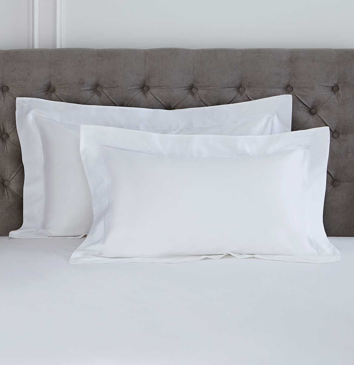 Oxford Bed Linen Collection - 400 TC - Cotton - White