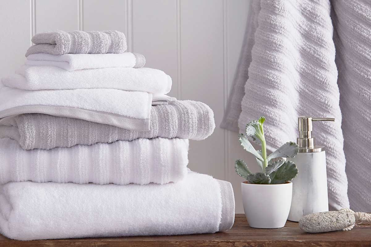 Towels with a twist…