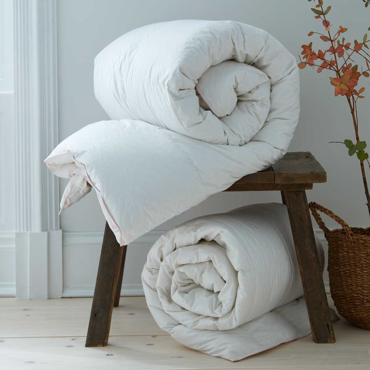 Why is Cotton the Best Choice Fibre for a Luxury Duvet?