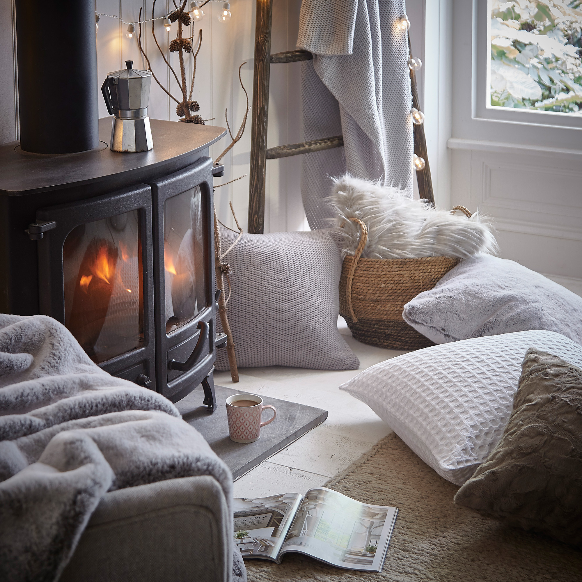 Stylish Ways To Keep Your Home Warm This Winter